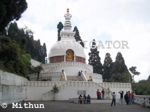 Peace Pagoda- Darjeeling